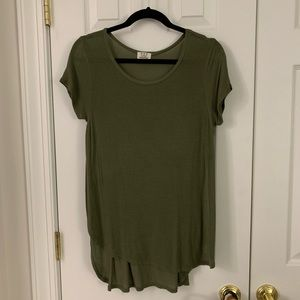 UO Side Slit Long Tee